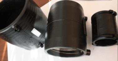 Фото: Электросварные муфты для полиэтиленовых труб пэ100sdr11