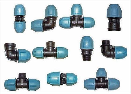 Фото – резьбовые фитинги для сетей водоснабжения