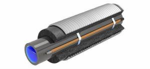 Фото - утепление трубопровода канализации изоляцией греющим кабелем