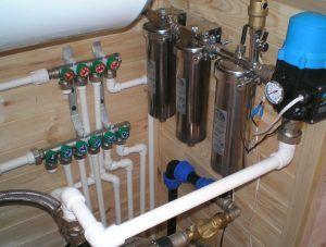 Фото: Системы трубопроводов для водоснабжения