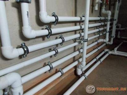 Фото: полипропиленовые трубы для отопительной системы