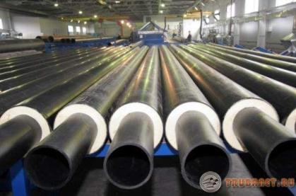 Фото: труба стальная оцинкованная в ппу изоляции
