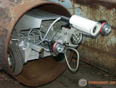 Фото: внутритрубная дефектоскопия магистральных трубопроводов
