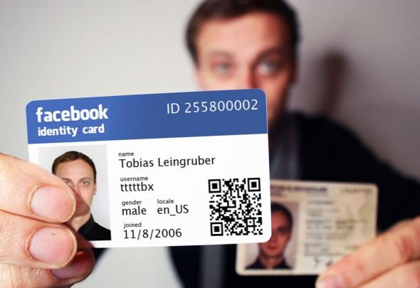 Risultati immagini per facebook carta di identità