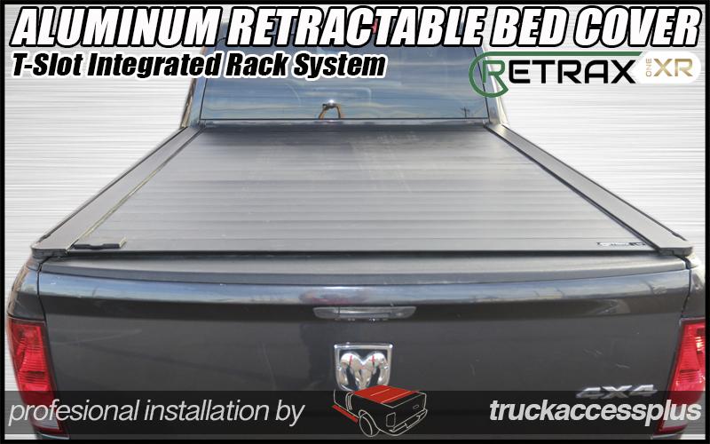 Retraxpro Xr Retractable Aluminum Rack Intergrated Truck
