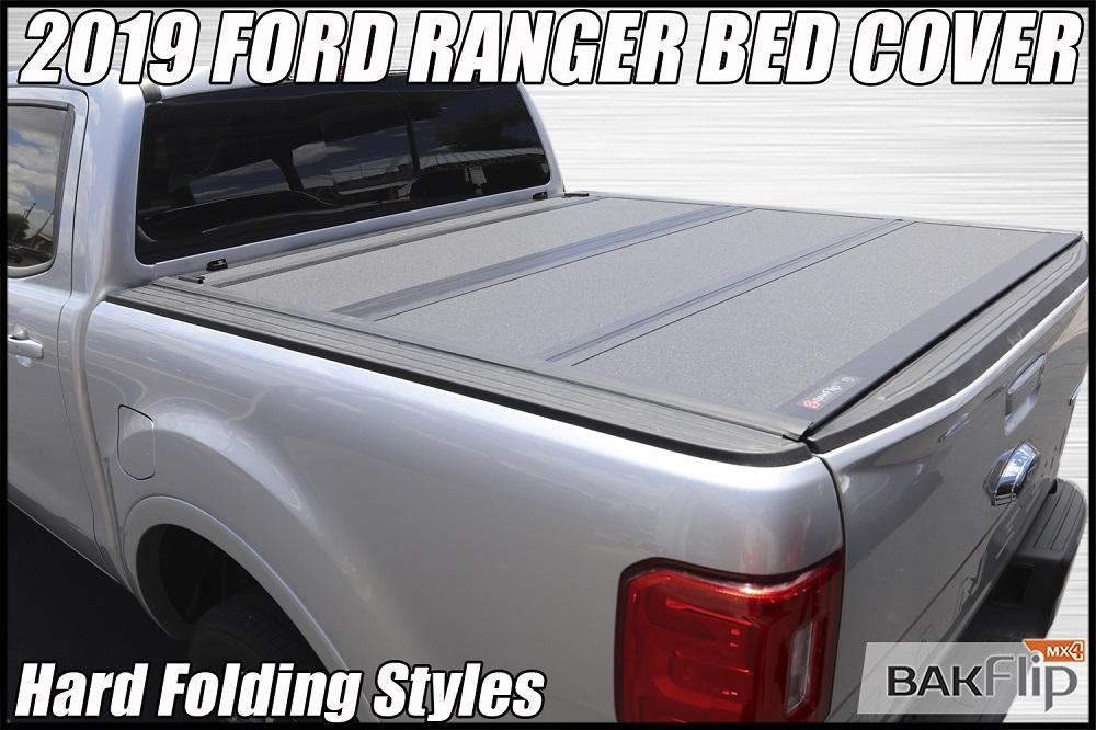 2019 Ford Ranger Bakflip Mx4 Hard Folding Truck Bed Cover