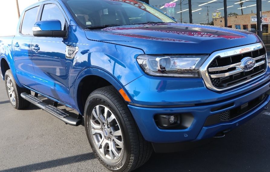 2019 Ford Ranger Super Crew 4 Quot Wide Black Step Boards