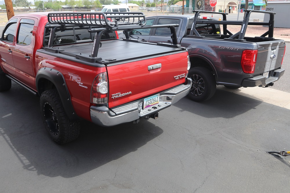 yakima roof racks off road truck bed
