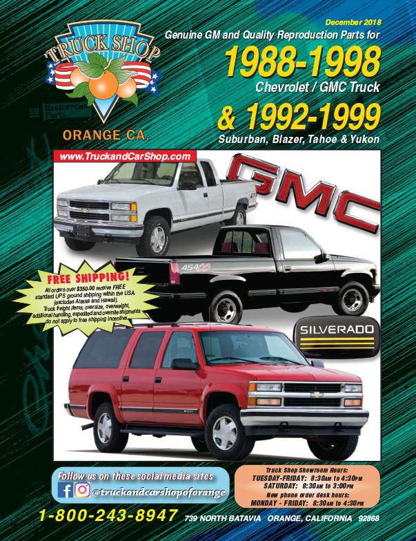 Parts Chevy 1996 Truck Catalog