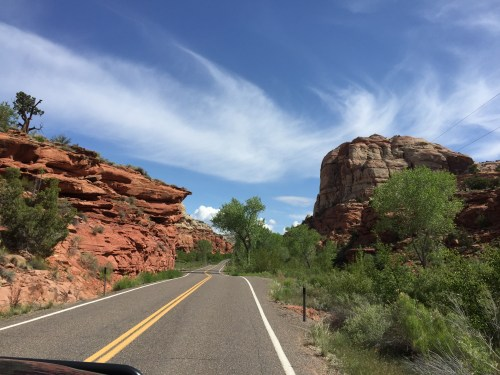 Utah Route-12, Calf Creek Canyon