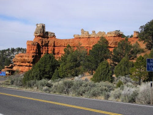 The Sphinx, Utah Route 12