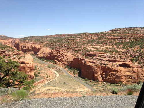 The Burr Trail - Long Canyon - Truck Camper Adventure