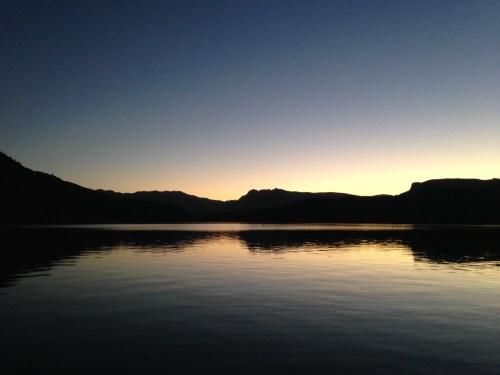 Apache Lake - Apache Trail