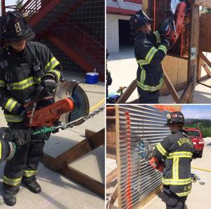 Forcible Entry Firefighter Training
