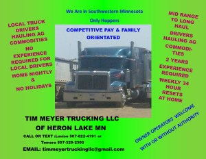 list of truck driving companies