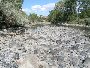 Demands on the Truckee River exceed the rivers ability to keep up. The river is particularly stressed during droughts which could become more common.