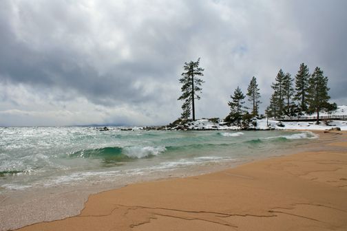 Lake Tahoe Storm at Sand Harbor