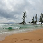 Lake Tahoe Storm at Sand Harbor