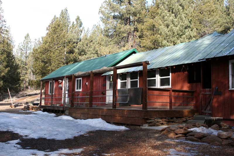 Sagehen Creek Field Station. Feb 5, 2015.