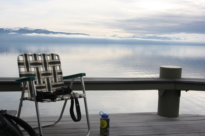 Dock at Lake Tahoe. Jan 2015.