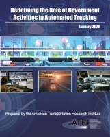 Redefining the Role of Government Activities in Automated Trucking