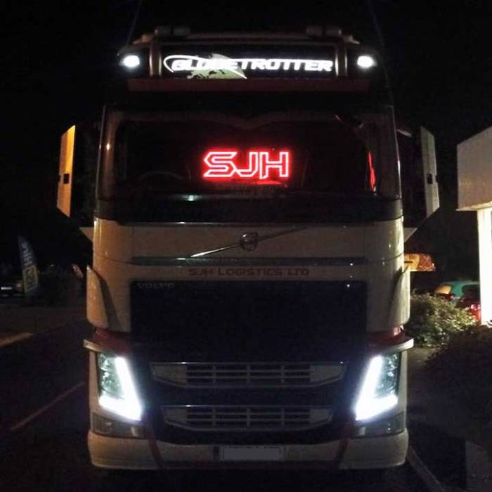 Business Truck light LED logo