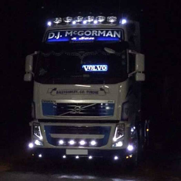 VOLVO Truck light LED logo