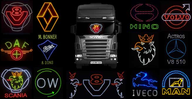 Truck Lite Logos LED Light Logos and Signs