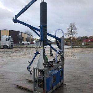 Äärekivi paigaldaja AL-VAC 1600 Flex hydraulic