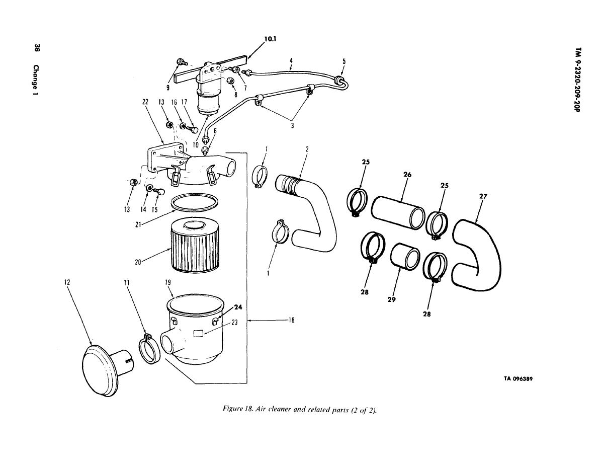 Figure 18 Air Cleaner And Related Parts 2 Of 2