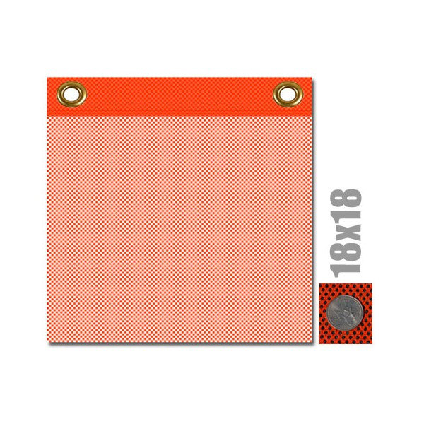Safety Flag with Brass Grommets (valuegear)