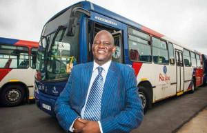 Benny Makgoga, Director of Service Promotions for Johannesburg.