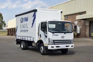 FAW5 medium truck range