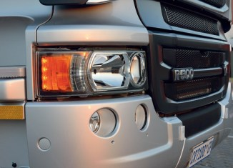 Scania grill