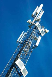 Unified Communications at work with microwave towers
