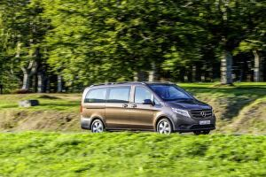 The engineers designed the new Mercedes-Benz Vito for maximum fuel efficiency.