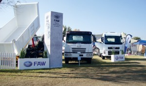 The FAW stand at this year's NAMPO Harvest Day in Bothaville.
