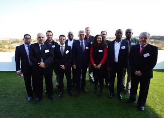 Top-level performers at the 2016 MAN DOTY Awards – [from left] Ian Seethal (Head of Network Development, Marketing & Communication), Claudio Fernandes (Chairman's award winner), Ryno Blignaut (VW Salesman of the Year), Tiago Dias (Sales Manager fo the Year), Gary Aliphon (Bus Salesman of the Year), Markus Geyer (Managing Director), Gerhard Hepburn (Chairman's award winner), Sarah Luthuli (Non-Executive Director), Bruce Dickson (Parts Dealer of the Year - Alpine Truck & Bus), Emile Matlou (TopUsed Salesman of the Year), Runga Moodley (MAN Truck Salesman of the Year), Nic Malec (Dealer of the Year & Service Dealer of the Year, Hatfield Truck & Bus).