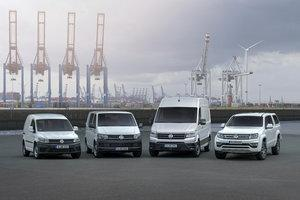 VW Commercial Vehicles delivered