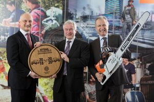 Stihl TIMBERSPORTSR and Volkswagen Commercial Vehicles renew cooperation