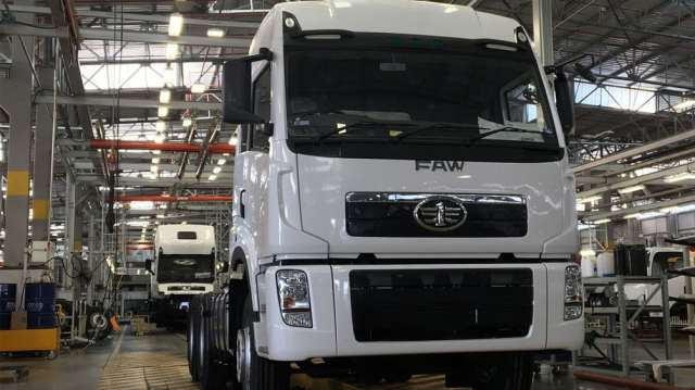 FAW Truck record year