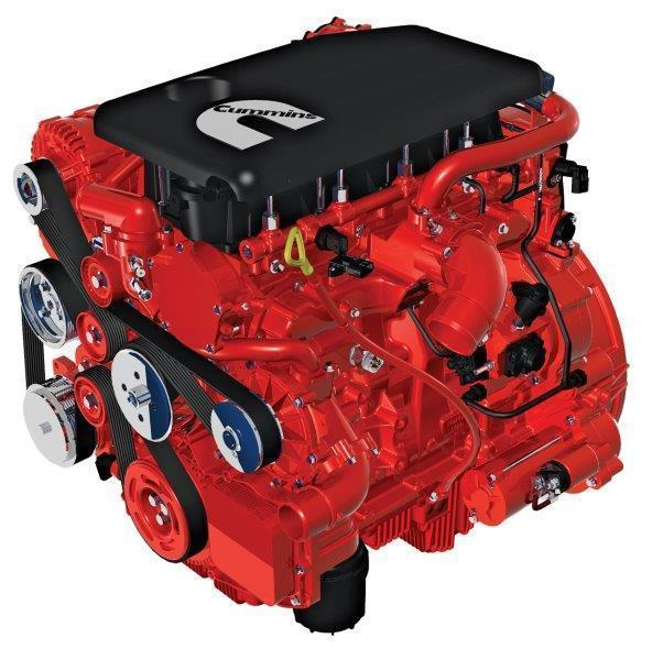The ISF engine family has been developed specifically for light commercial applications.