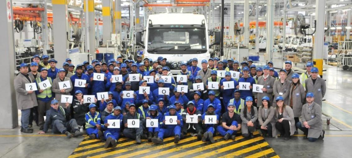 4000th unit 2 at SA's Coega Plant
