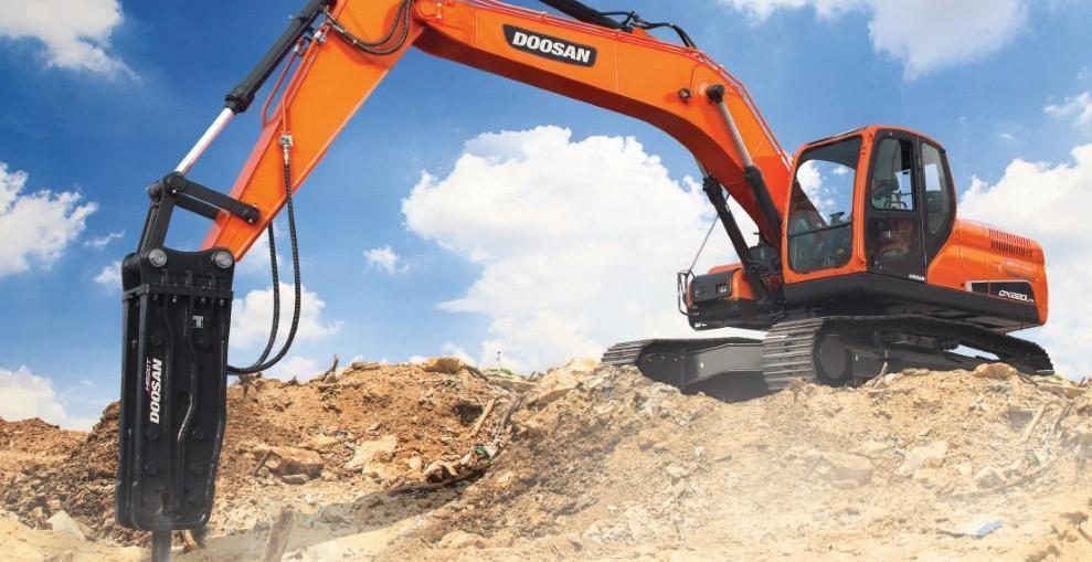 Doosan DX220LCA-2 excavators 2018 pic 2