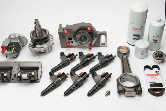 Cummins can comfortably meet the demand for aftermarket parts and training in Africa.