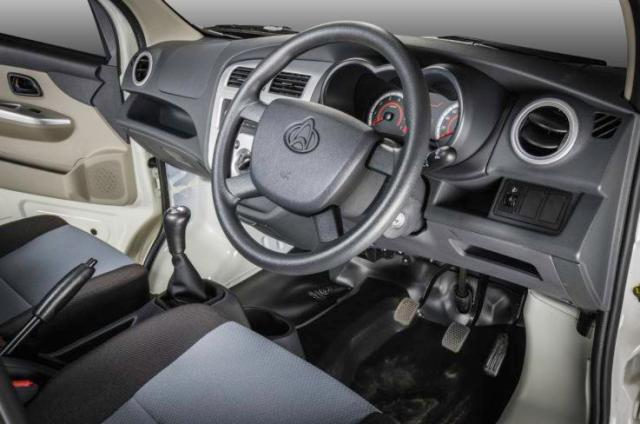 Interior of the Changan Star III bakkie