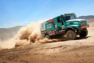 Goodyear truck tyres beat the sands of Peru with Team De Rooy.