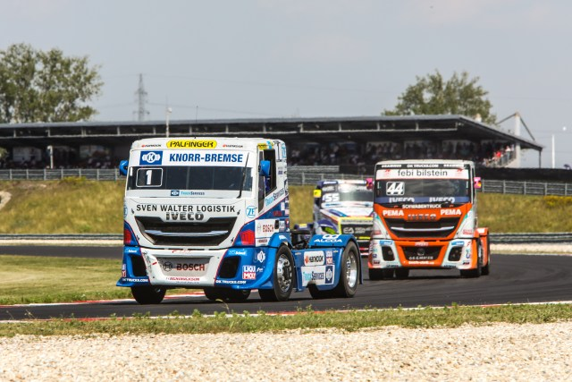 IVECO claims victory at the FIA European Truck Racing Championship