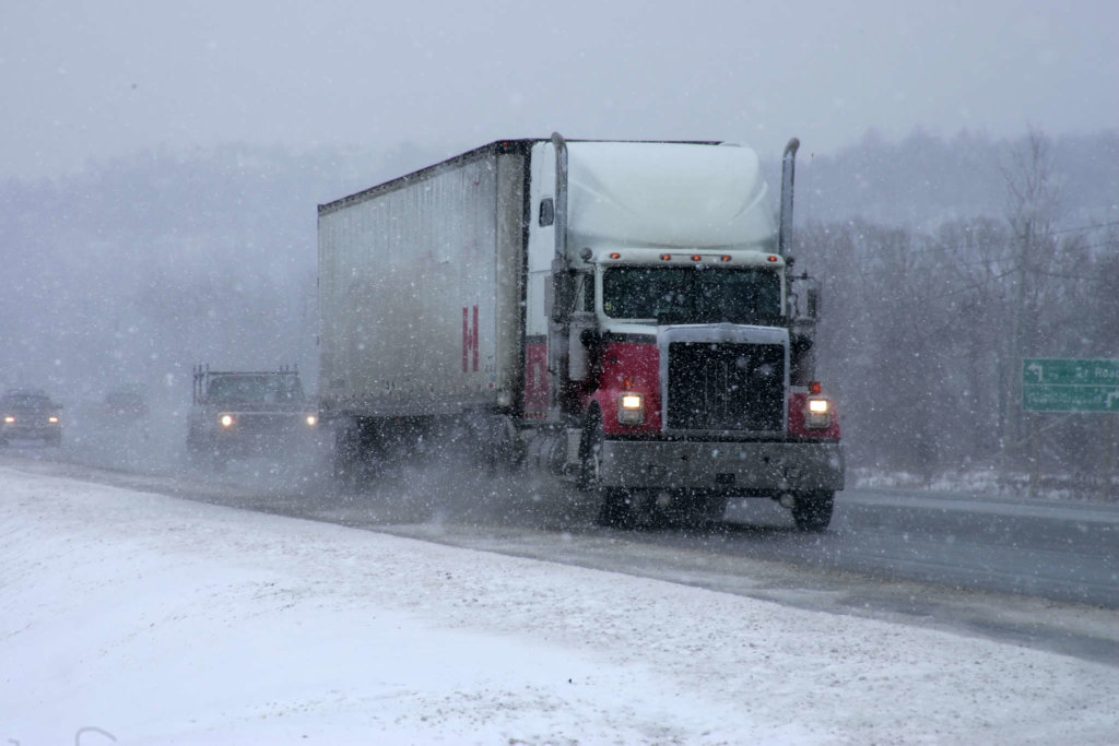 Image result for truck in icy mountains