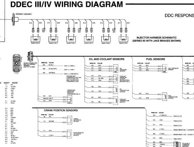 ddec iv wiring diagram pdf ddec image wiring diagram detroit 14l wiring diagram jodebal com on ddec iv wiring diagram pdf